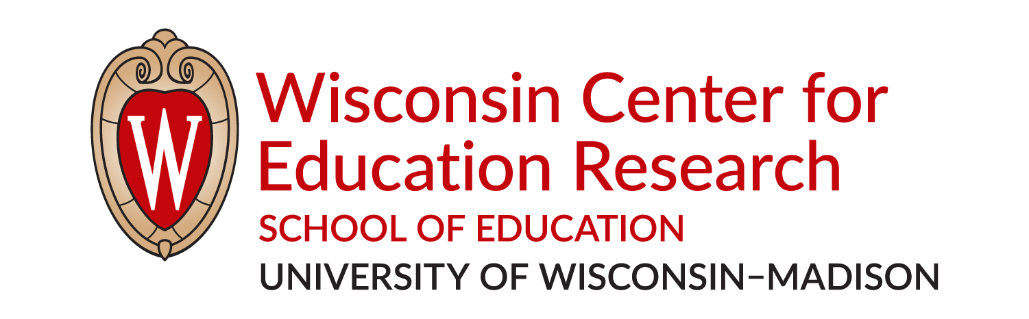 Logo for Wisconsin Center for Education Research, School of Education, University of Wisconsin-Madison